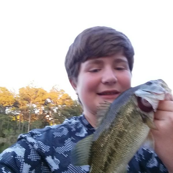 2 lbs / 16 in Largemouth bass caught by Bryan Miller