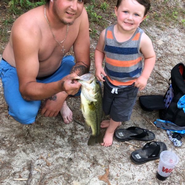 Largemouth bass caught by Christopher DiMaio
