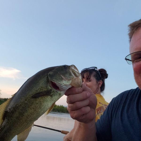 2 lbs Largemouth bass caught by Scott Anderson