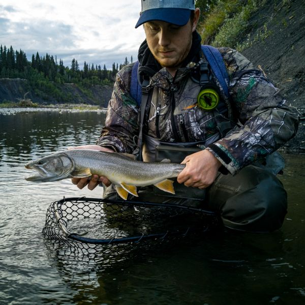 Bull trout caught by Kenny Slaney
