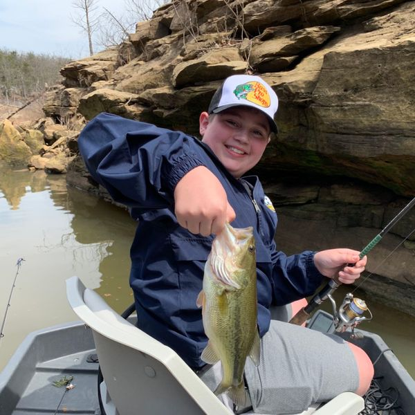 Largemouth bass caught by Sean Mulligan