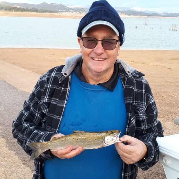 12 in Brown trout caught by PS CustomMade saunders