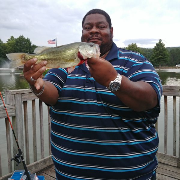 Alabama spotted bass caught by Hugh Daniels