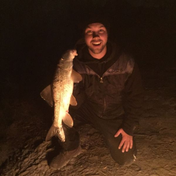 River redhorse caught by Chadd Edwards