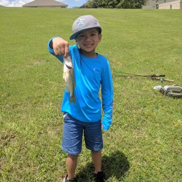1 lbs  caught by Jacob Tambunga
