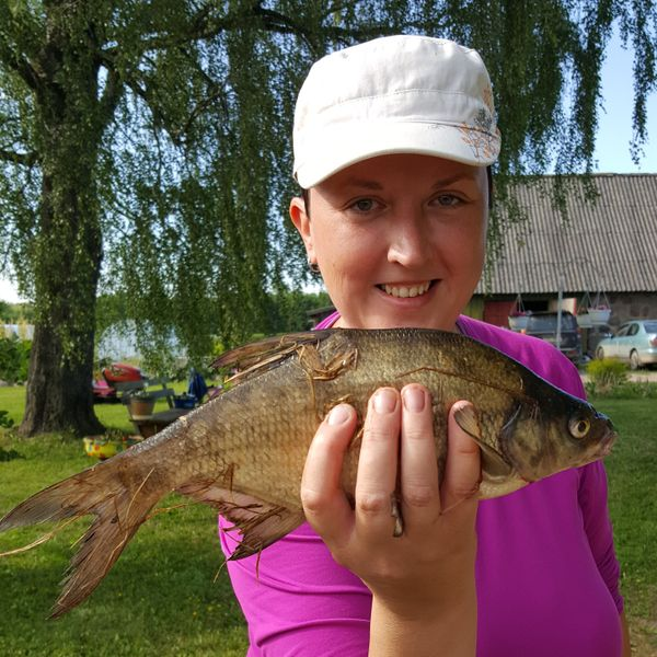 Common bream caught by Jane A