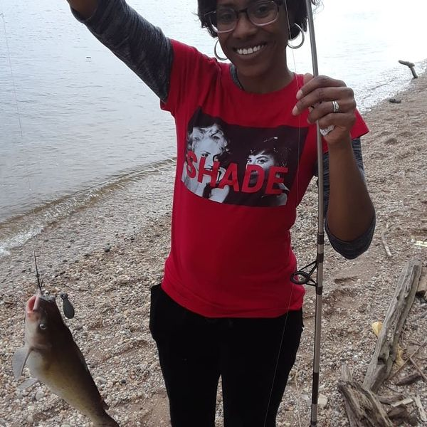 2 lbs / 14 in Channel catfish caught by Darrien Robinson