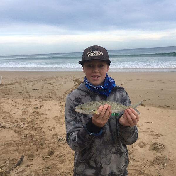 13 in Australian salmon caught by Taj Webber