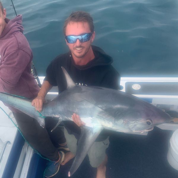 Thintail thresher caught by Grant Salinger